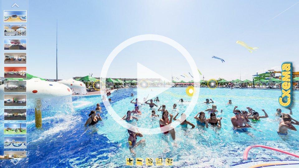 3D-тур аквапарка Остров Сокровищ в Кирилловке