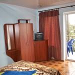Спальня в коттедже на берегу