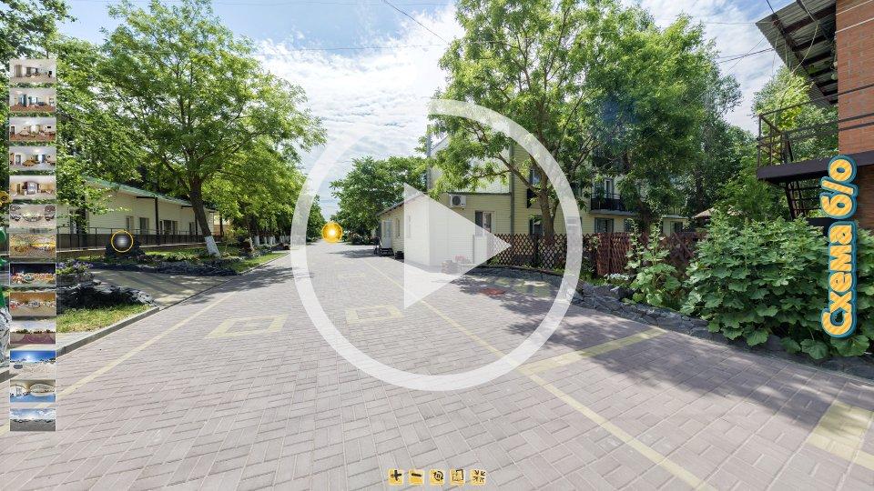 3D-тур отеля Галатея Приморская в Кирилловке