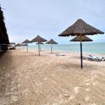 Пляж базы отдыха Приморская Галатея