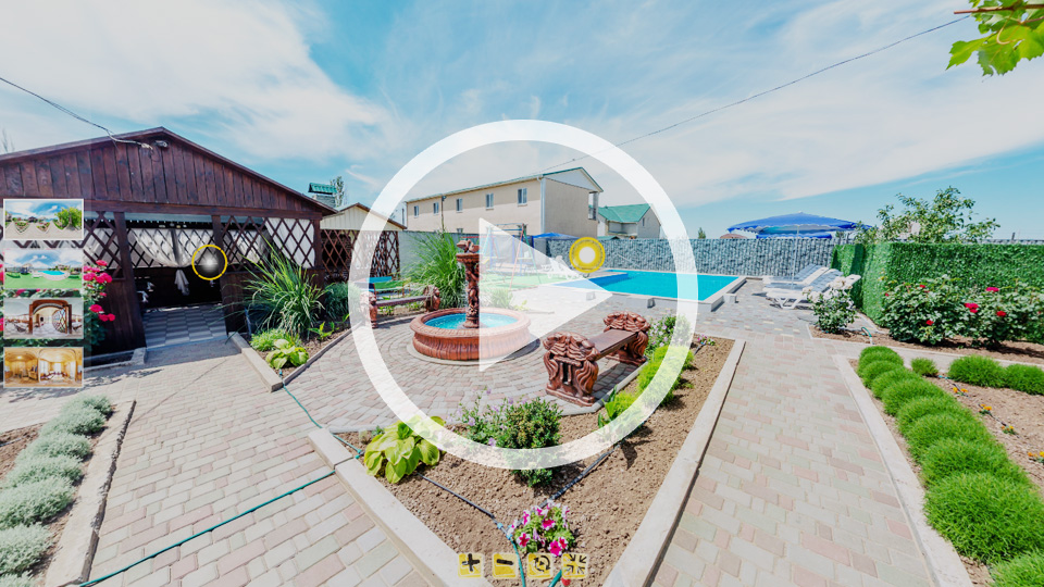 3D-тур гостевого дома Царское село в Кирилловке