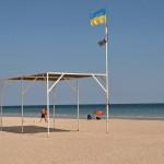 Пляж базы отдыха Будивельник