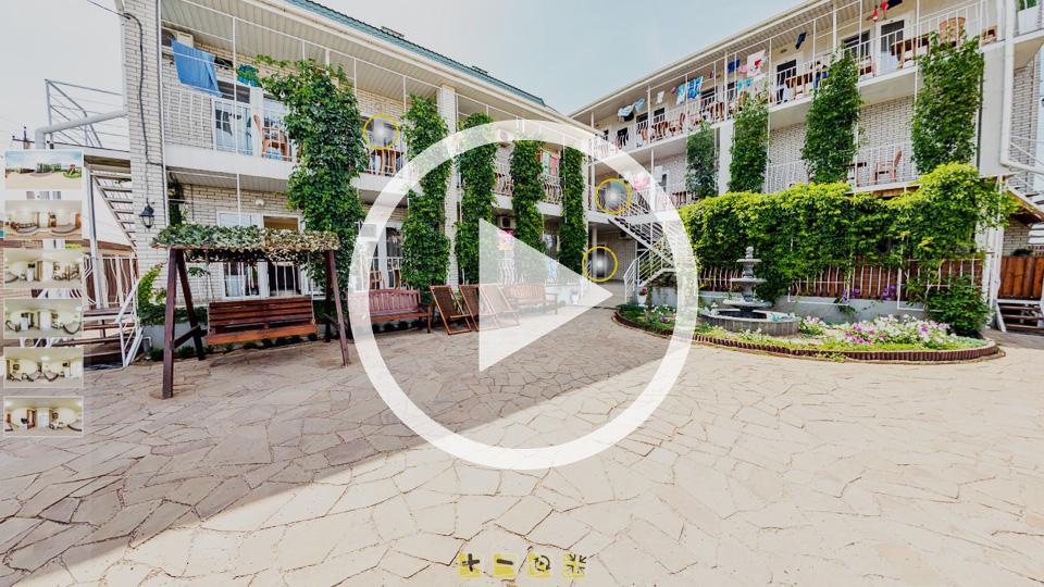 3D-тур гостевого дома Ажур в Кирилловке