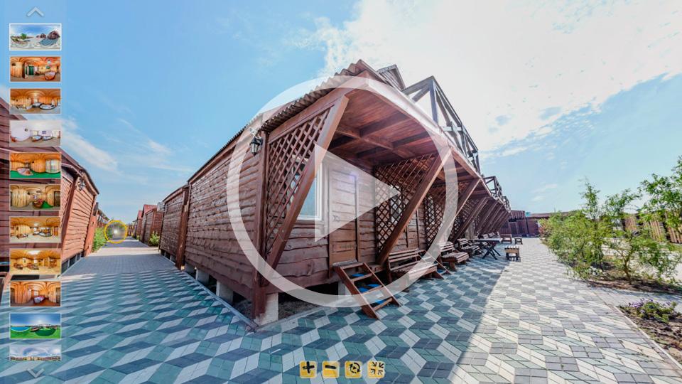 3D-тур базы отдыха Азов-Люкс в Кирилловке