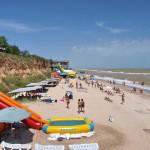 Пляж комплекса «Прибой»