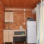 Кухня-студия двухкомнатного номера