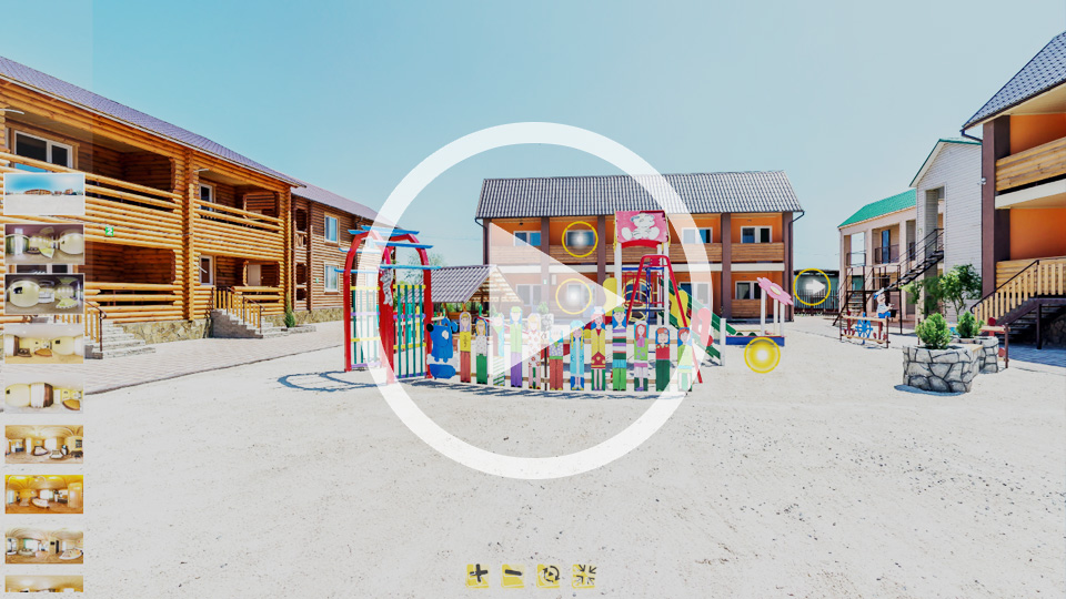 3D-тур базы отдыха Акватория в Кирилловке