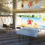 Детская площадка и теннисный стол ― фото владельца