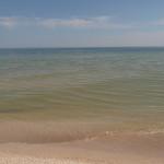 Пляж в районе заказника