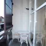 Номер «Люкс Семейный» 2-4-х местный, вид с балкона