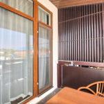 Номер «Люкс» 2-х местный, вид с балкона