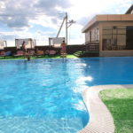 «Azov le Chalet», зона отдыха с бассейном