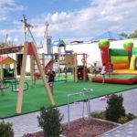 Территория и детская площадка