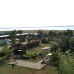 Территория базы отдыха
