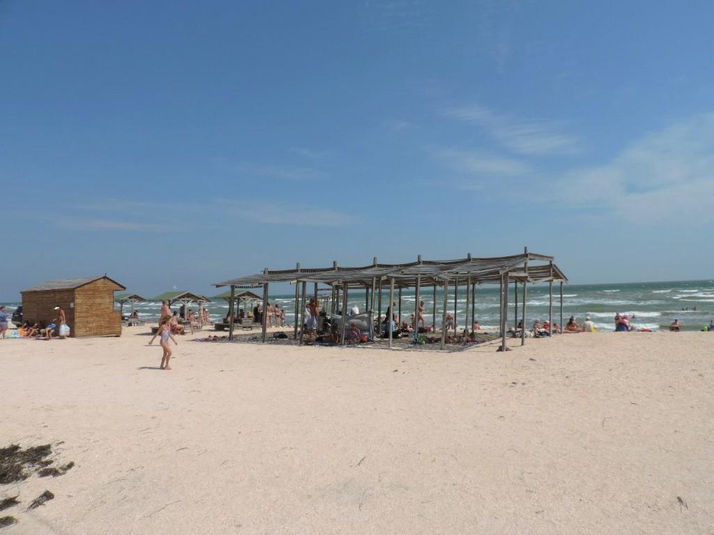 Арабатская стрелка. Пляж.