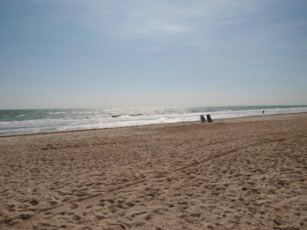 Кирилловка. Коса Пересыпь. Пляж.