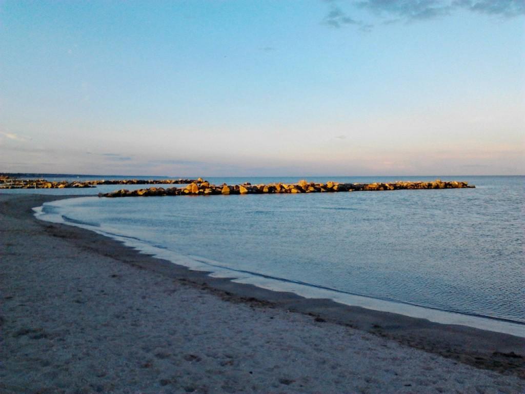 Приморск, пляж