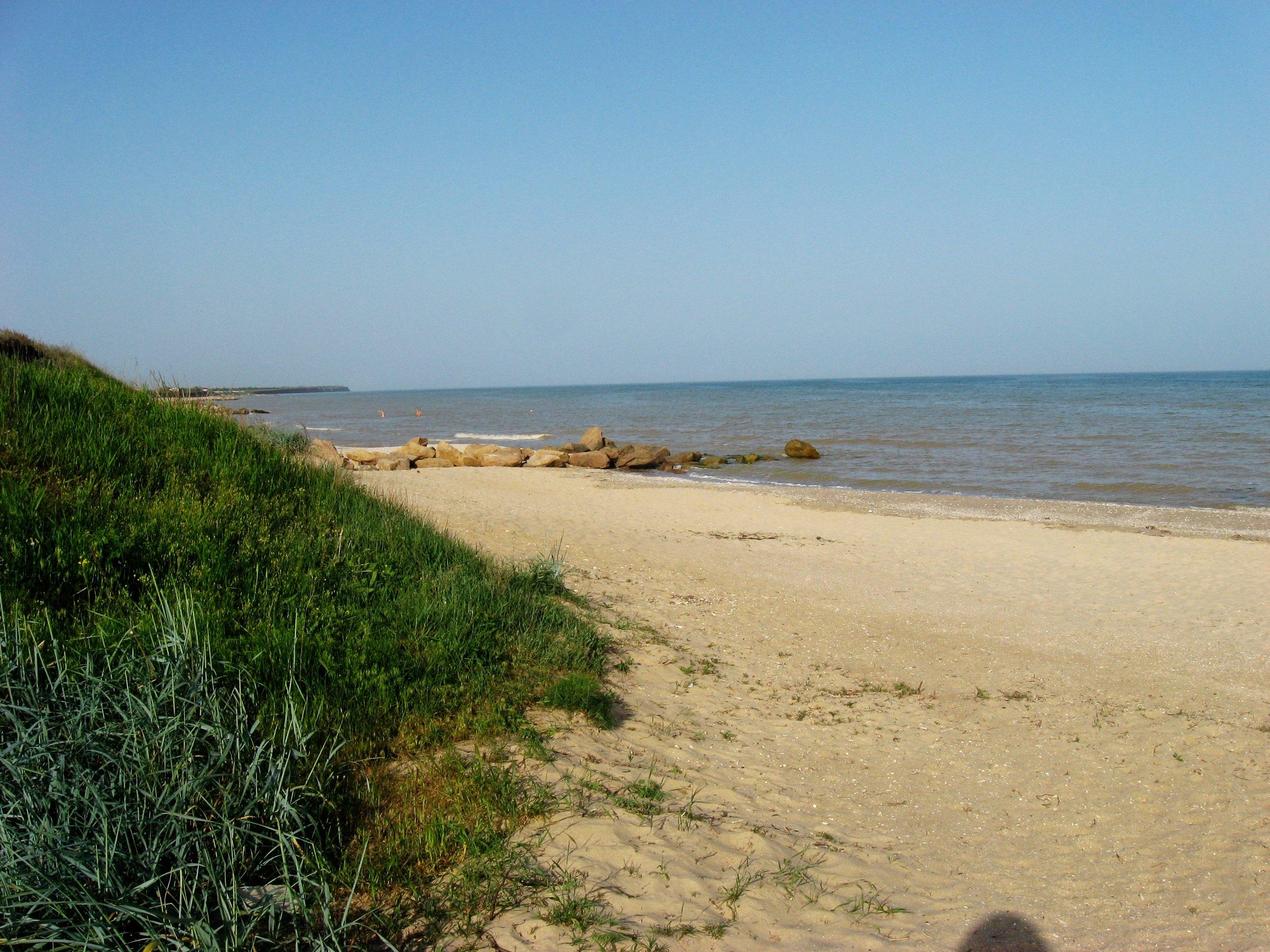 Азовское море приморск пляжи