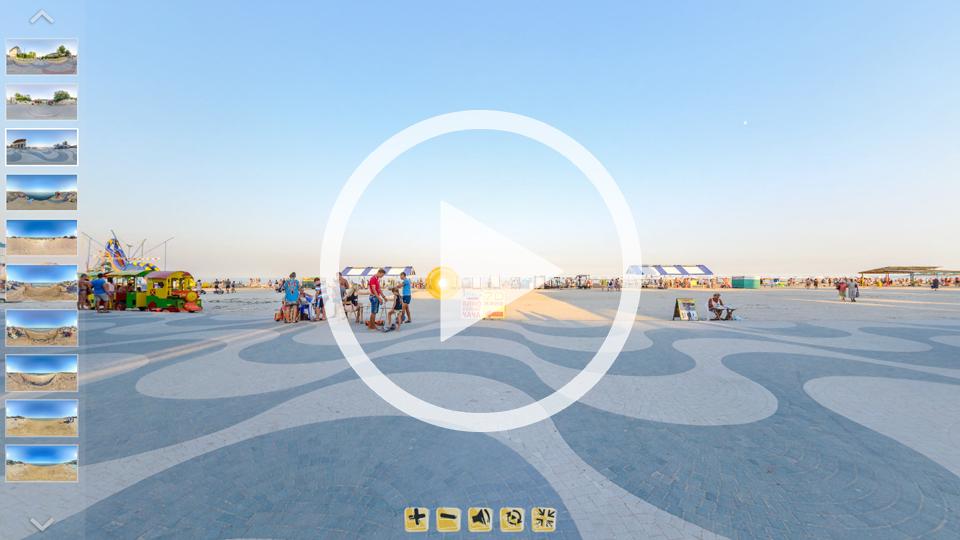3D-тур Геническа и Арабатской Стрелки