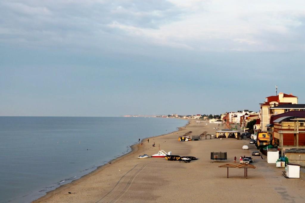 Затока. Пляж.