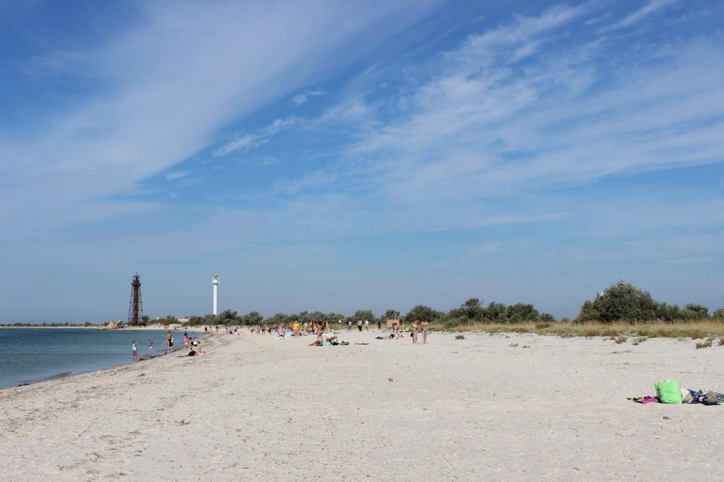 Пляж в Железном Порту