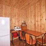 Домик «Полулюкс» 3-х местный, кухня