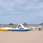 Пляж возле базы отдыха «Ромашка»