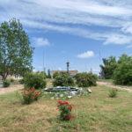 Территория пансионата Аист в Кирилловке