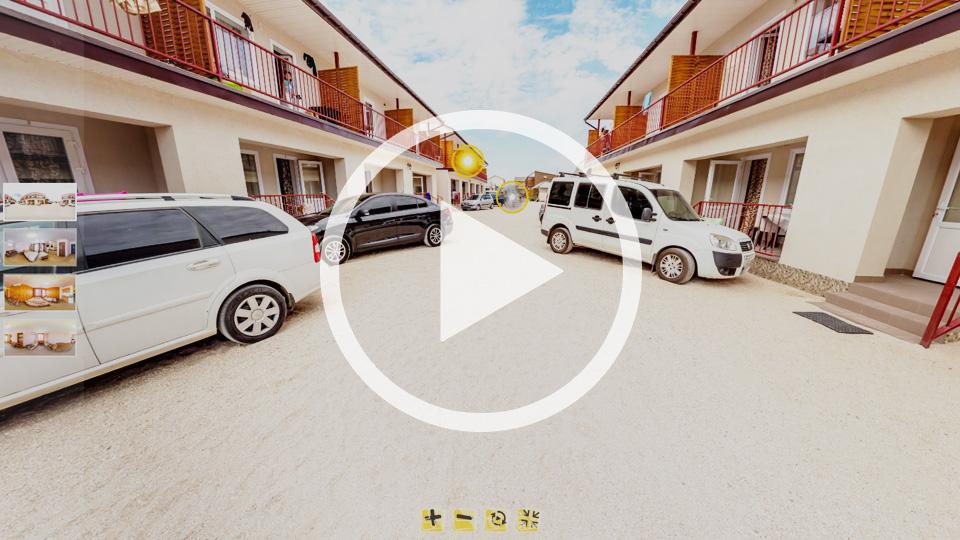 3D-тур базы отдыха Азов-Сервис в Кирилловке