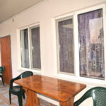 Балкон номеров Люкс корпуса №3