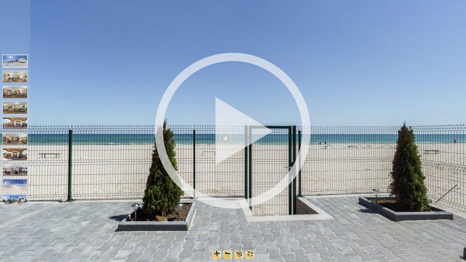 3D-тур коттеджей Гармония в Кирилловке на острове Бирючий