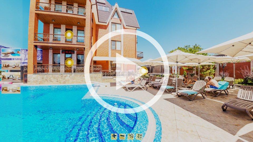 3D-тур отеля Villa SanRemo в Кирилловке