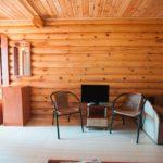 «Люкс» 3-х местный в деревянном домике