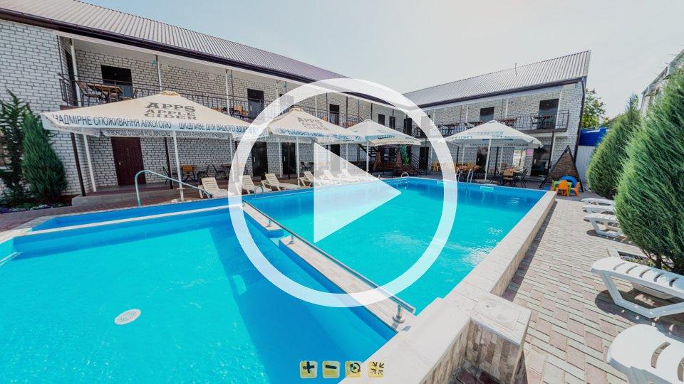 3D-тур гостевого дома Смайл в Кирилловке