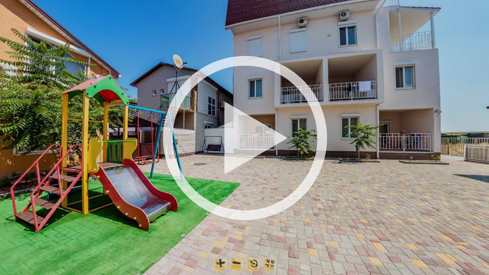 3D-тур виллы Глициния в Кирилловке на острове Бирючий