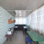 Общая кухня на этаже