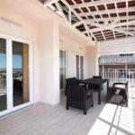 «Апартаменты» 6-ти местные трехкомнатные, терраса с видом на море