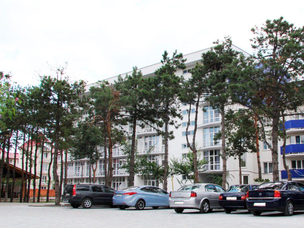 Парк-отеля «Березка» в Коблево