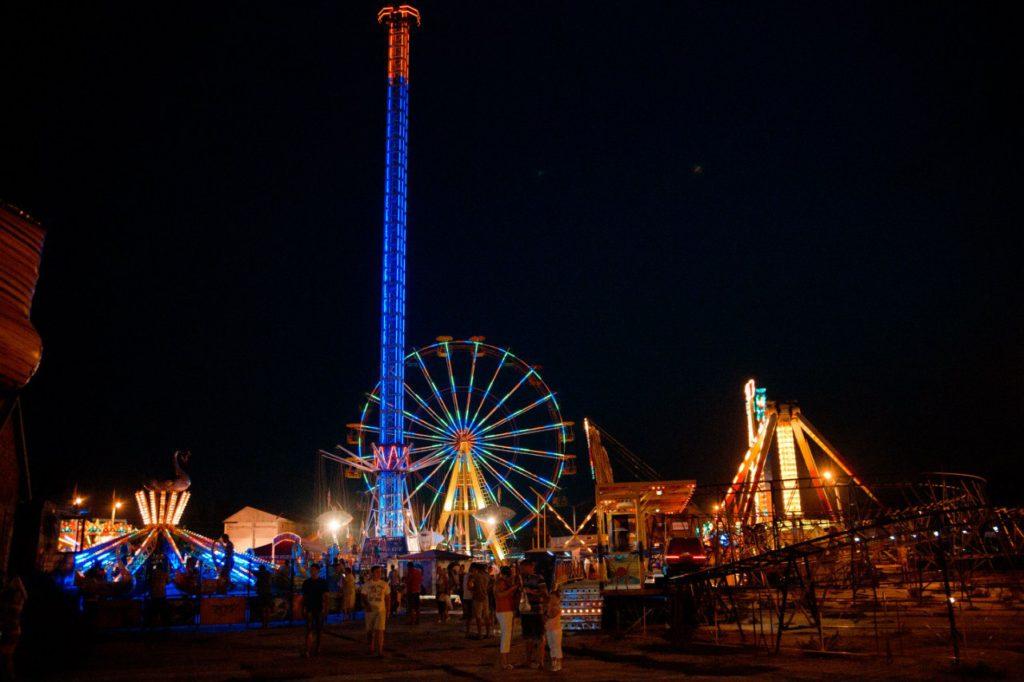 Луна-парк в Кирилловке
