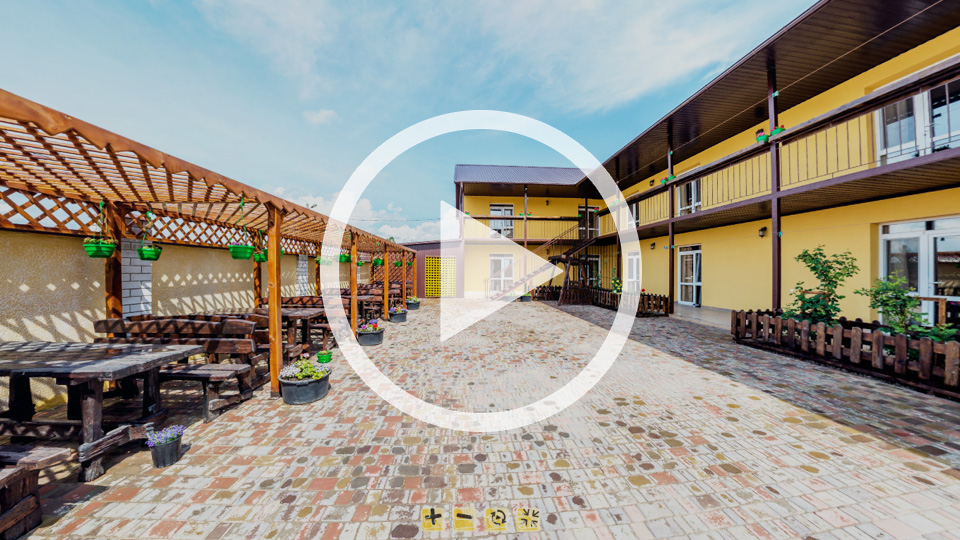 3D-тур гостевого дома Акация в Кирилловке