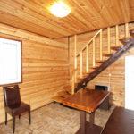 Номер «Люкс» 4-х местный в деревянном коттедже
