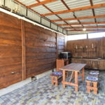 Летняя кухня между домиками