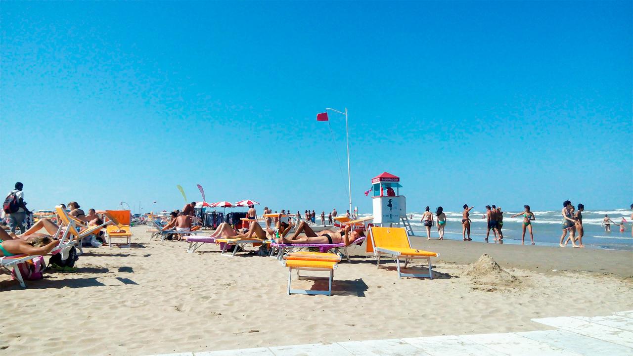Черноморск, пляж