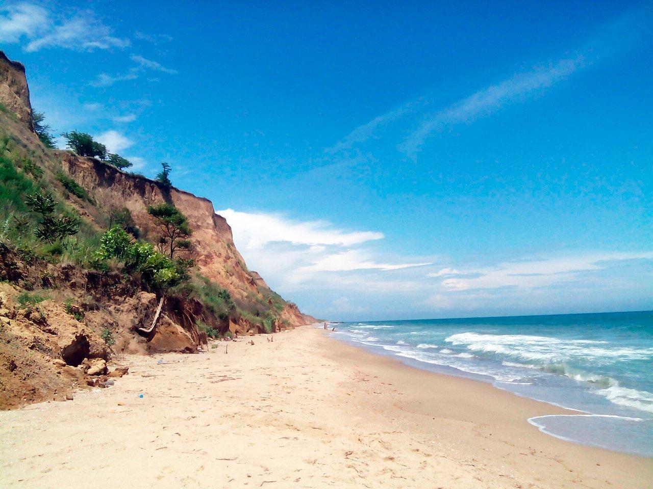 Санжейка, пляж