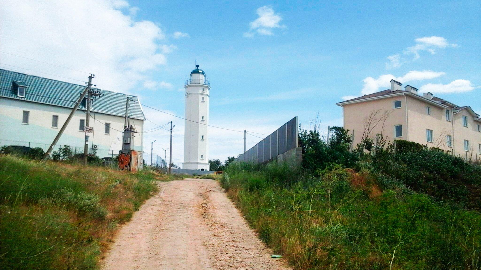 Санжейка, маяк