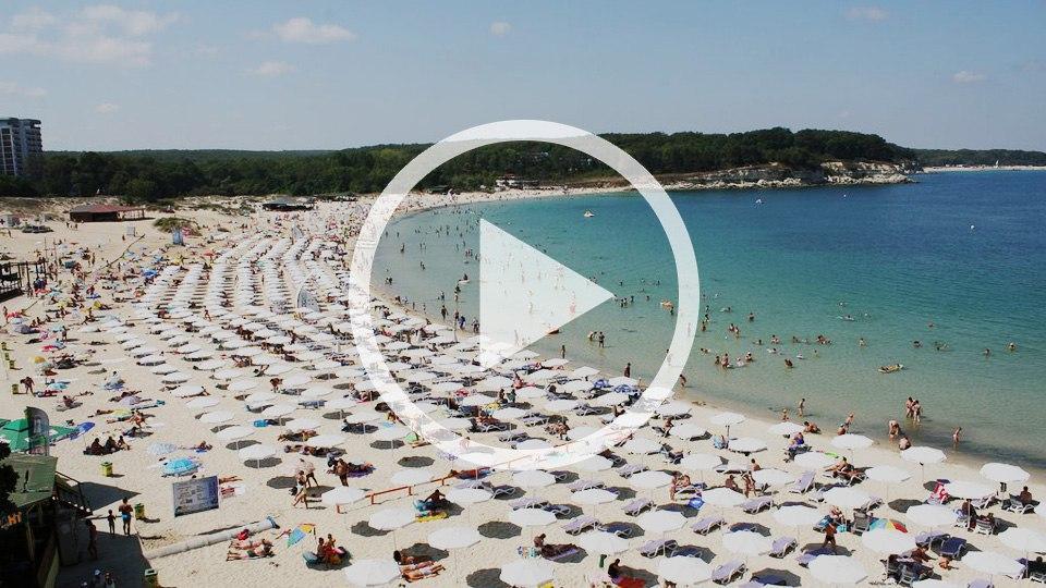 Веб-камеры в Болгарии на курорте Китен