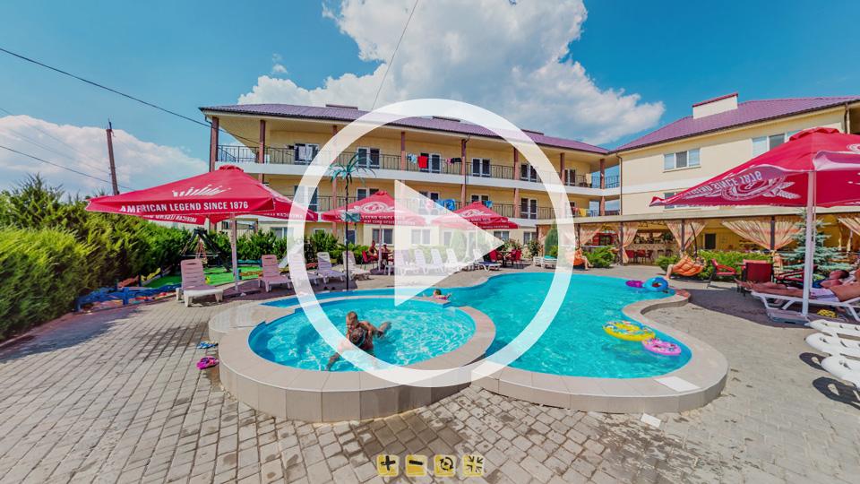 3D-тур гостиничного комплекса Аурум в центре Кирилловки