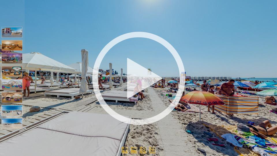 3D-тур пляжа в Железном Порту