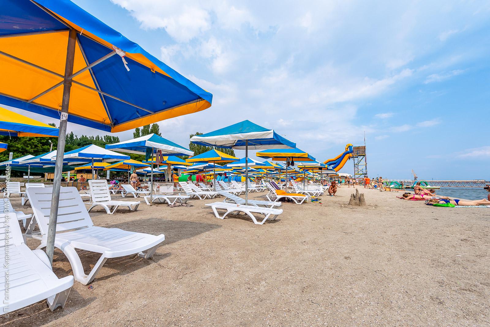 Пляж Скадовска