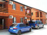 Коттеджи «Red House» в кемпинге «Фортуна»